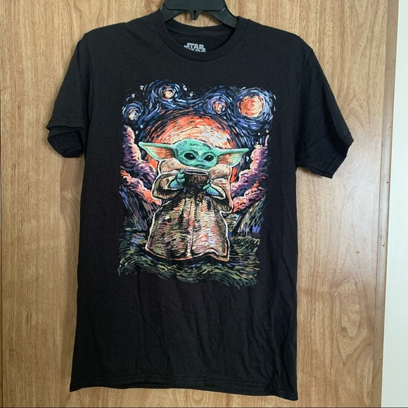 Baby Yoda The Child Men's T-shirt Size Small